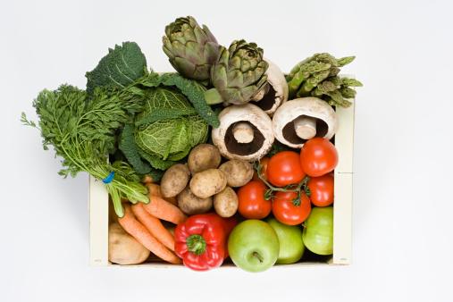 Asparagus「Organic vegetable and fruit box」:スマホ壁紙(8)