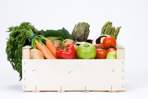 Composition「Organic vegetables」:スマホ壁紙(5)