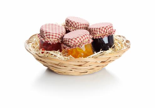 Raspberry Jam「Basket of homemade fruit jams」:スマホ壁紙(19)