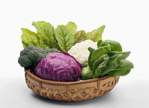 Broccoli「Basket of Healthy Vegetables - XXXL」:スマホ壁紙(11)