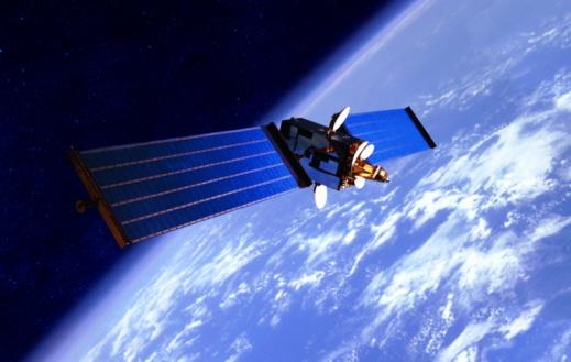Planet Earth「Communication Satellite over the Earth」:スマホ壁紙(8)