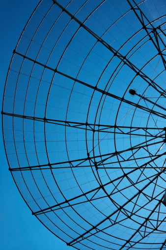 Antenna - Aerial「Communication Radar Against Blue Sky」:スマホ壁紙(1)