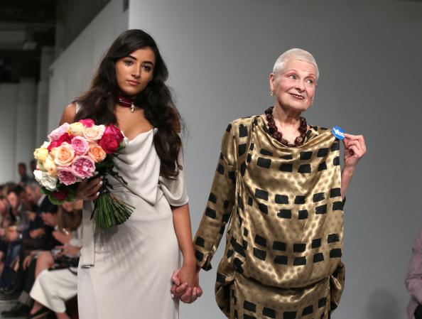 Vivienne Westwood - Designer Label「Vivienne Westwood Red Label: Runway - London Fashion Week SS15」:写真・画像(11)[壁紙.com]