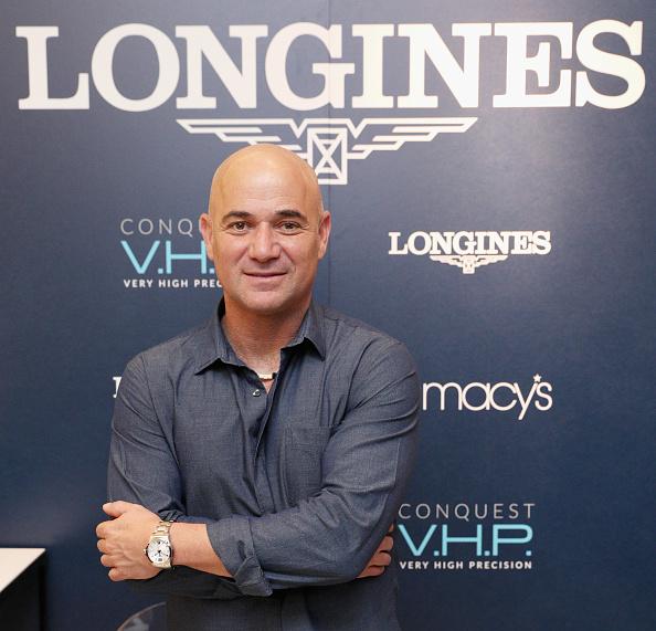 アンドレ アガシ「Longines Conquest V.H.P NY Launch With Andre Agassi」:写真・画像(12)[壁紙.com]