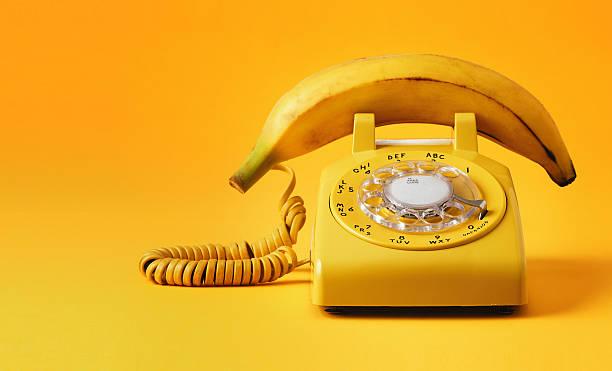 バナナの電話:スマホ壁紙(壁紙.com)