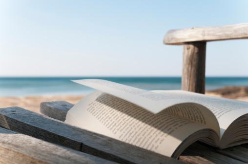 Paperback「Reading by the lake」:スマホ壁紙(18)