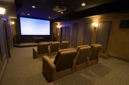 Projection Equipment「Executive Home Theater」:スマホ壁紙(3)