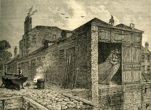Barge「Searles Boat-Yard In 1830」:写真・画像(17)[壁紙.com]