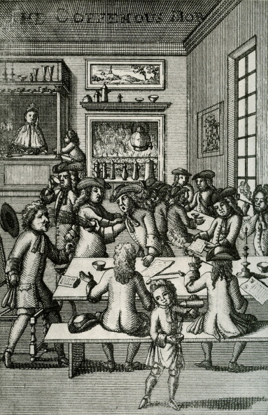 17th Century「A coffee house」:写真・画像(16)[壁紙.com]