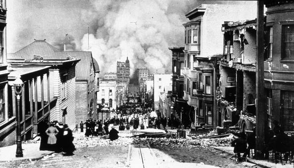 San Francisco - California「San Francisco Earthquake And Fire」:写真・画像(19)[壁紙.com]
