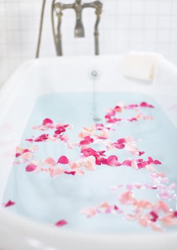 flower「Flower bath」:スマホ壁紙(9)