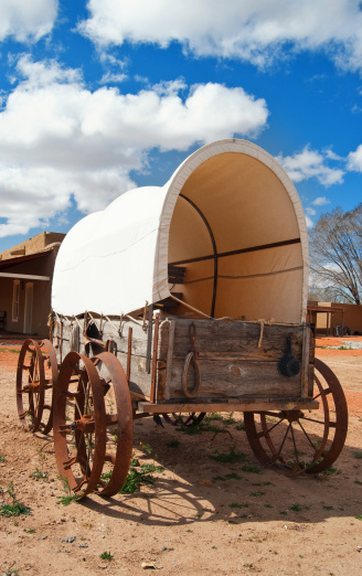 Horse-drawn carriage「Oregon Trail Covered Wagon」:スマホ壁紙(16)