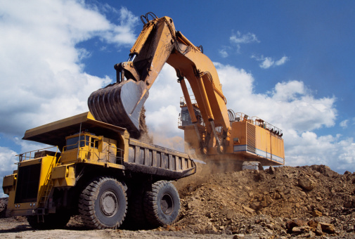Earth Mover「Excavation Vehicle & dump」:スマホ壁紙(16)