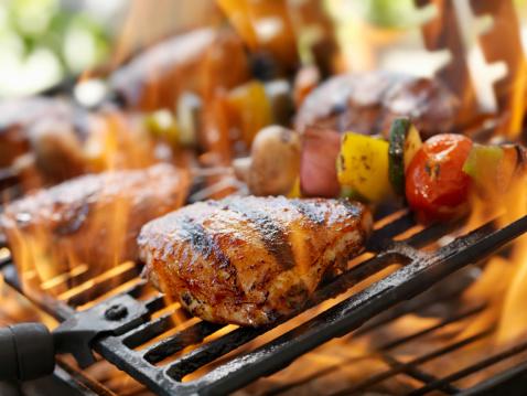 Barbecue Grill「BBQ Chicken」:スマホ壁紙(15)