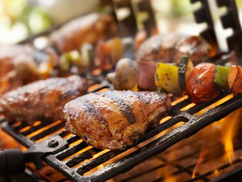 Barbecue Grill「BBQ Chicken」:スマホ壁紙(5)