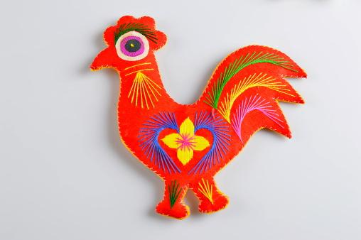 Floral Pattern「Chicken」:スマホ壁紙(5)