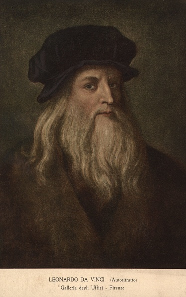 Portrait「Leonardo Da Vinci」:写真・画像(3)[壁紙.com]