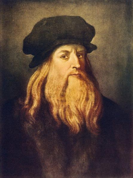 Portrait「Leonardo da Vinci - self portrait of the Italian Renaissance painter, sculptor, writer, scientist, architect and engineer.」:写真・画像(14)[壁紙.com]