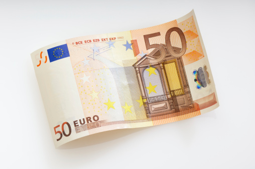 European Union「Waved fifty Euro note」:スマホ壁紙(1)