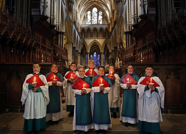 Salisbury Cathedral「Salisbury Cathedral's Choristers Rehearse Ahead Of Christmas Services」:写真・画像(17)[壁紙.com]