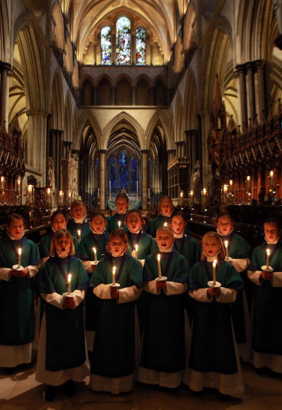 Spirituality「Choristers Prepare For Christmas Celebrations At Salisbury Cathedral」:写真・画像(5)[壁紙.com]