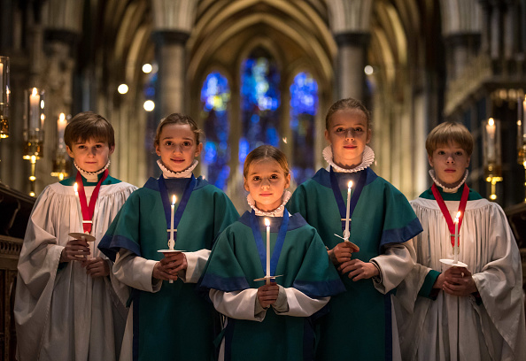 Salisbury Cathedral「Salisbury Cathedral Choristers Prepare For Christmas Services」:写真・画像(8)[壁紙.com]