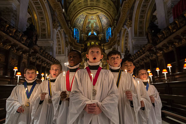 Choristers Prepare For Christmas Celebrations At St Pauls Cathedral:ニュース(壁紙.com)