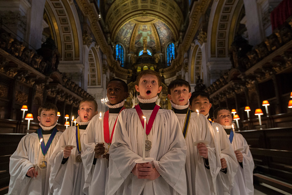 Christmas「Choristers Prepare For Christmas Celebrations At St Pauls Cathedral」:写真・画像(7)[壁紙.com]