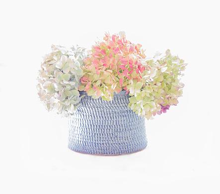あじさい「Flowers in a Vase」:スマホ壁紙(18)