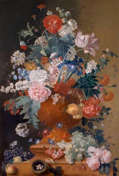 Vase「Flowers In A Terracotta Vase,」:写真・画像(7)[壁紙.com]