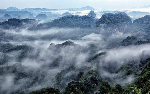 Steep「Shaoguan, guangdong danxia mountain jinjiang scenery」:スマホ壁紙(19)
