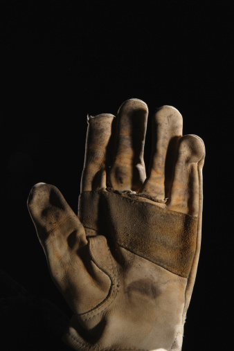 Protective Glove「Worker's leather glove」:スマホ壁紙(2)