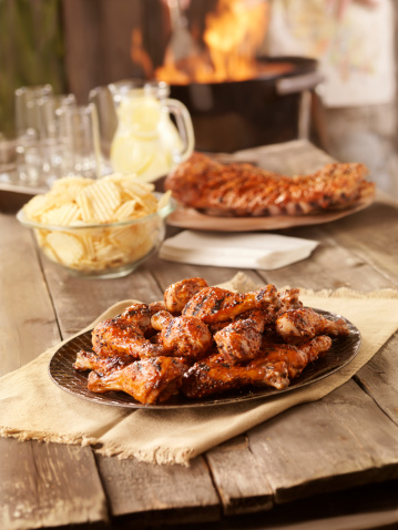 Picnic Table「BBQ Chicken and Pork Ribs」:スマホ壁紙(15)