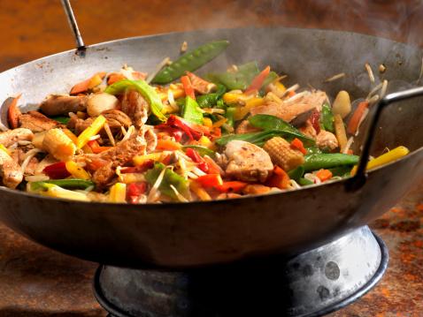 Chicken Meat「Chicken and Vegetable Stir Fry」:スマホ壁紙(10)
