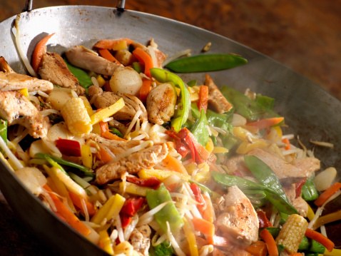 Chinese Food「Chicken and Vegetable Stir Fry」:スマホ壁紙(8)