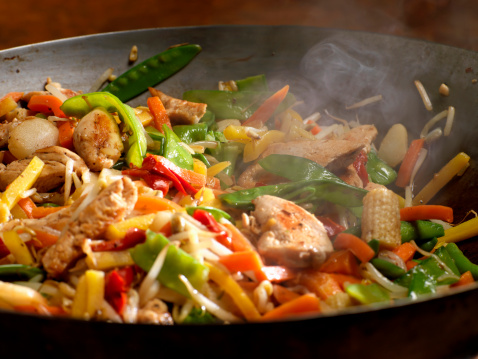 Grilled Chicken「Chicken and Vegetable Stir Fry」:スマホ壁紙(14)