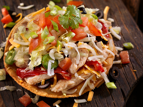 Chili Con Carne「Chicken and Pepper Tostada」:スマホ壁紙(15)