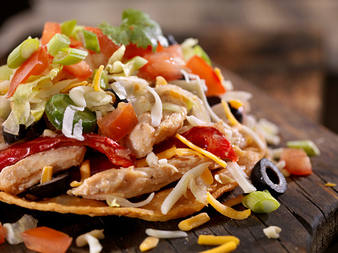 Sour Cream「Chicken and Pepper Tostada」:スマホ壁紙(1)