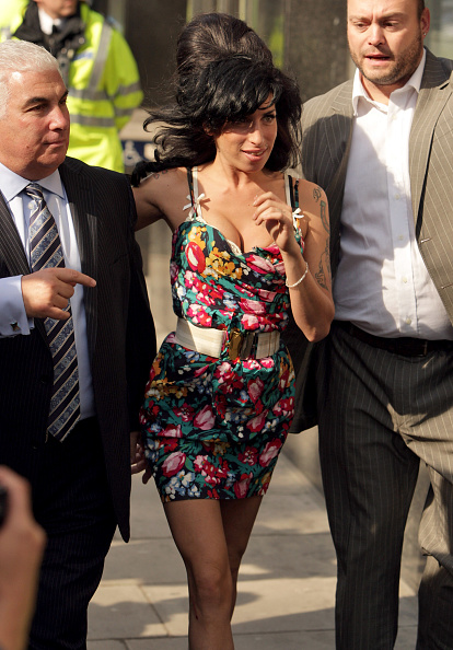 Half Up Do「Amy Winehouse Faces Assult Charges At Westminster Magistrates Court」:写真・画像(12)[壁紙.com]
