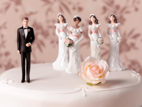 Decisions「Polygamy wedding cake」:スマホ壁紙(0)