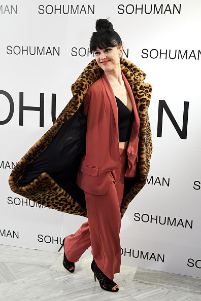 Multi Colored Coat「Sohuman Presents 'Relieve' - Photocall - London Fashion Week」:写真・画像(14)[壁紙.com]