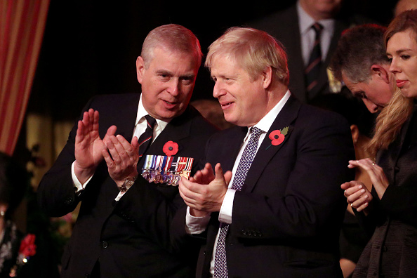 Prince Andrew - Duke of York「The Queen And Members Of The Royal Family Attend The Annual Royal British Legion Festival Of Remembrance」:写真・画像(15)[壁紙.com]