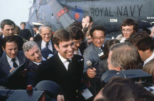 Falkland Islands「Prince Andrew returns from the Falklands War」:写真・画像(8)[壁紙.com]