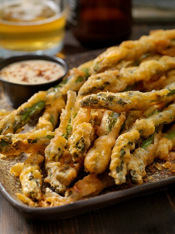 Chili Sauce「Beer Battered Asparagus with a Chili Dipping Sauce」:スマホ壁紙(0)