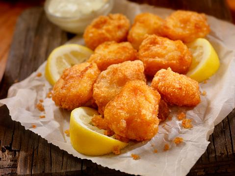 Deep Fried「Beer Battered Fish Bites with Tarter Sauce」:スマホ壁紙(18)