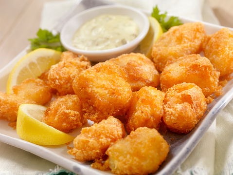 Deep Fried「Beer Battered Fish Bites with Tarter Sauce」:スマホ壁紙(8)