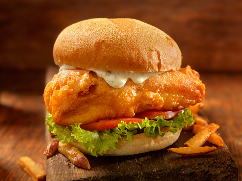 Sandwich「Beer Battered Fish Burger」:スマホ壁紙(4)