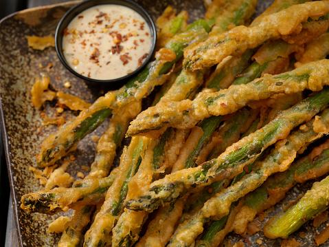 Chili Sauce「Beer Battered Asparagus」:スマホ壁紙(18)