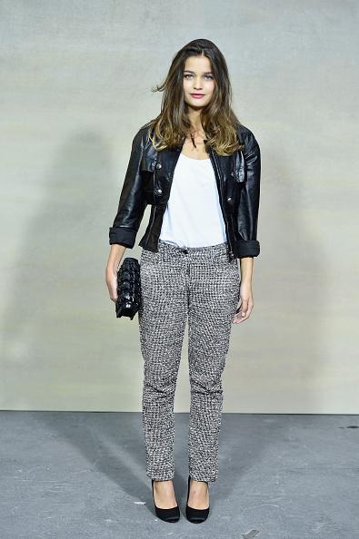 Black Shoe「Chanel : Front Row  - Paris Fashion Week Womenswear Spring/Summer 2015」:写真・画像(3)[壁紙.com]