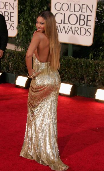 Metallic Dress「The 64th Annual Golden Globe Awards - Arrivals」:写真・画像(19)[壁紙.com]